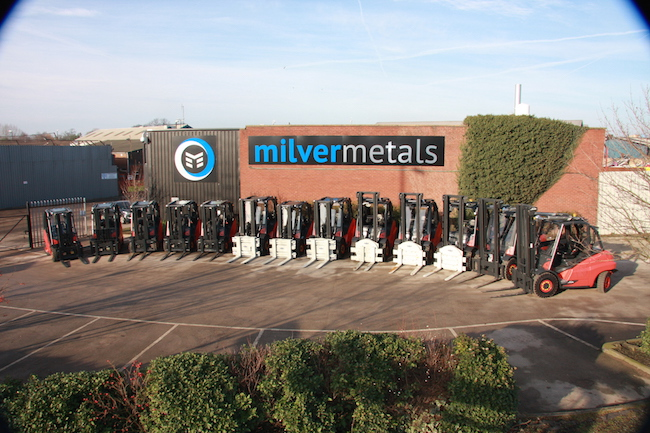 New Forklift Fleet by Milver Metals